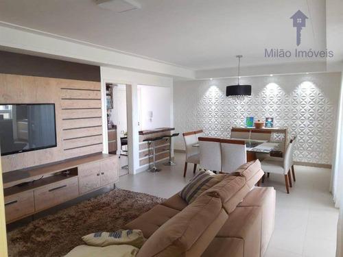 Imagem 1 de 30 de Apartamento Com 3 Dormitórios À Venda, 125 M² Por R$ 917.000 - Mont Royal - Parque Campolim - Sorocaba/sp - Ap1503