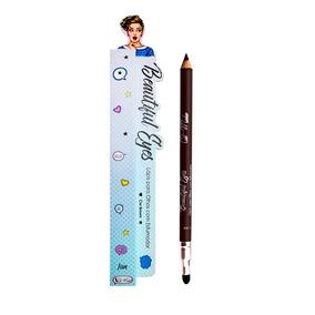Lápis Para Olhos Com Esfumador Brown - Cat Make