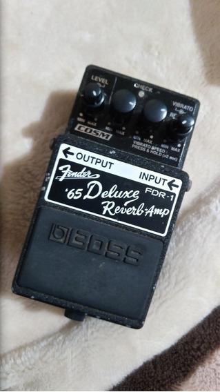 Pedal Boss Fender Deluxe Reverb