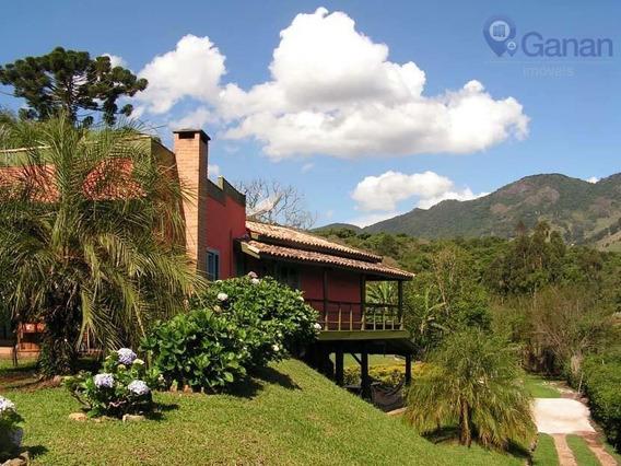 Linda Casa Montanha São Bento Do Sapucaí, 03ds - Ca0195
