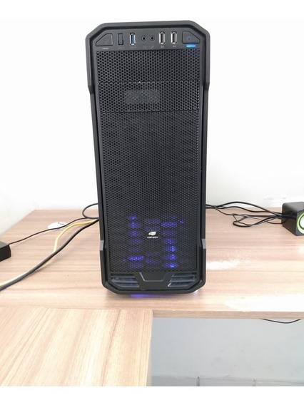 Cpu Gamer I3-7100, Geforce Gtx 1050, 8gb Memória Ram, Hd 1tb
