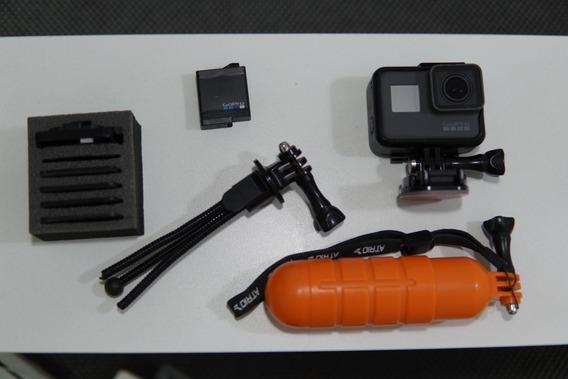 Gopro Hero 5 Black Com 2 Baterias + Acessórios