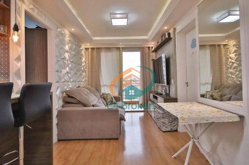 Imagem 1 de 13 de Apartamento Com 2 Dormitórios À Venda, 48 M² Por R$ 295.000 - Aricanduva - São Paulo/sp - Ap2394