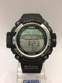 Relogio Casio Sgw-300 Altímetro, Barómetro E Termômetro.