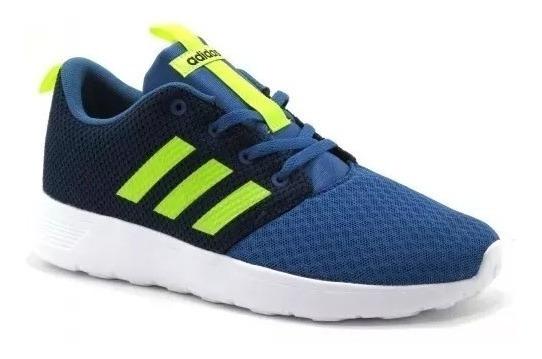 Tenis Para Niño adidas Azul Neo Swifty Aq1694