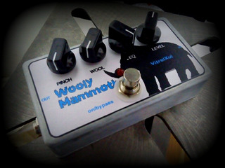 Woolly Mammoth Vitrolxul Fuzz Para Bajo/guitarra