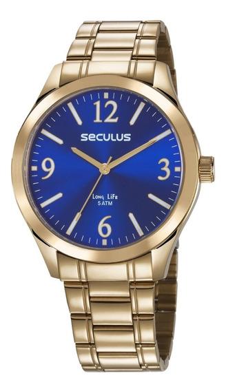 Relógio Seculus Masculino 23656gpsvda2