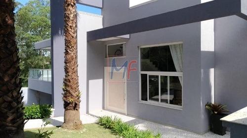 Imagem 1 de 19 de Ref 13.423 Excelente Casa Assobradada Localizado No Condominio 5 Em Arujá,  560 M² A.c, 597 M² A.t, 4 Dorms, 4 Suítes, 9 Vagas De Garagem. - 13423