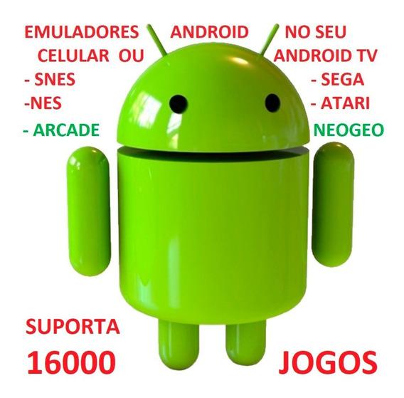 Emuladores N64 Neogeo Snes Atari Nes P Android Tv P Email