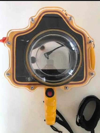 Caixa Estanque Para Canon 7d (suporte Gopro)