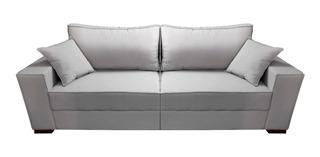 Sofa Merten 4 Lugares 220cm Macio Bipartido Modulado 2 Parte