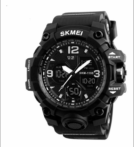 Relógio Masculino Skmei Original Modelo 1155 Prova D