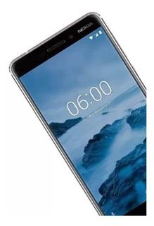 Nokia 6.1 2018 Sensor Huella Memoria 32gb+silicon Gratis
