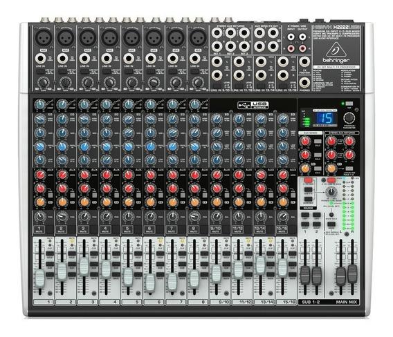 Mesa De Som Behringer Xenyx Bi-volt X2222usb - Ms0020