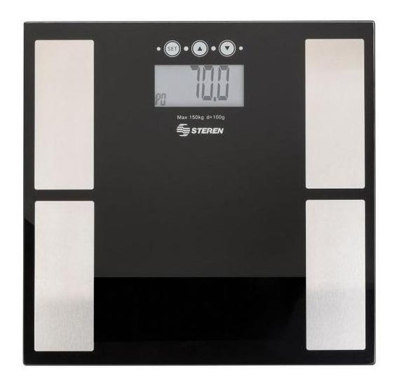 Báscula digital Steren MED-110 negra