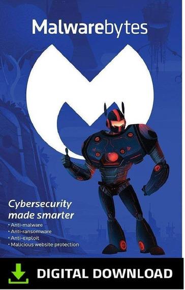 Malwarebytes Premium 1 Dispositivo 1 Ano