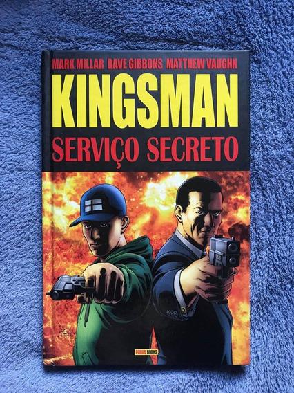 Kingsman: Serviço Secreto - Capa Dura - Hq Panini - Vol.1