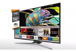Smart Tv Samsung 50 Ultra Hd 4k Un50mu6100gczb Nuevo