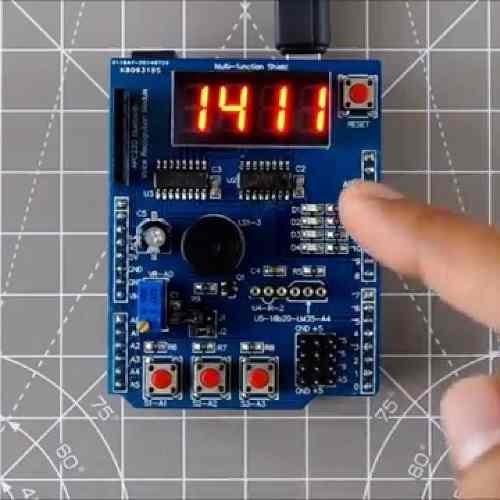 Shield Arduino De Aprendizado Multifunção Para Leigos