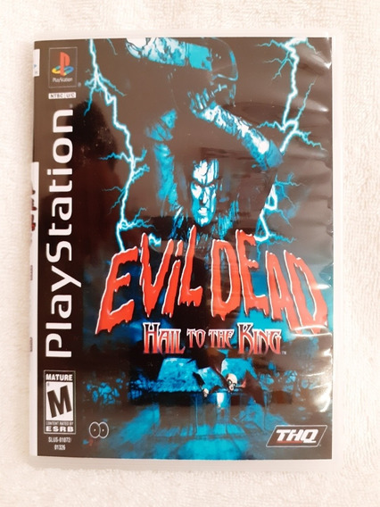 Evil Dead Hail To The King Para Playstation 1 - Patch