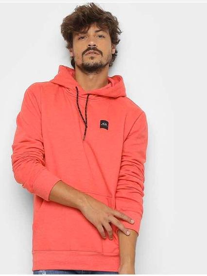 Moletom Patch 2.0 Pullover Masculino Vermelho - Oakley