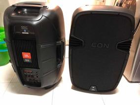 Caixa Amplificada Jbl Eon 515xt (o Par) Com Defeito