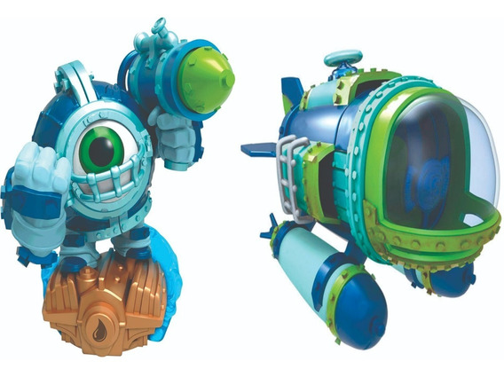 Skylanders Superchargers Dive Clops + Dive Bomber