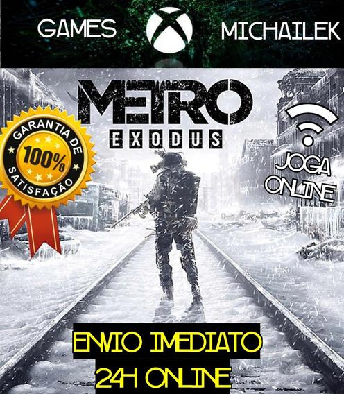Metro Exodus Xbox One Mídia Digital + Jogo Brinde