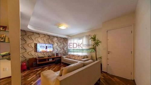 Imagem 1 de 15 de Sobrado Com 3 Dormitórios À Venda, 174 M² Por R$ 912.000 - Jardim Bela Vista - Santo André/sp - So1550