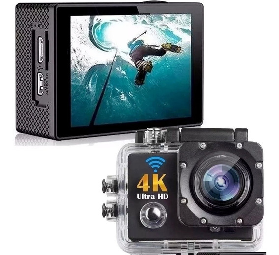 Câmera Filmadora Ultra Hd Digital Videos 4k Tipo Gopro