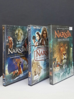 Lote X3 Peliculas Las Cronicas De Narnia - Dvds Originales