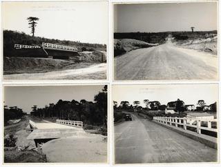 Sc Anos 1950 4 Fotos Br477 Trecho Canoinhas Major Vieira
