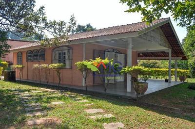 Chácara Residencial À Venda, Estância Santa Maria Do Portão, Atibaia. - Ch0165
