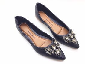 6843a4ad0 Sapatilha Com Pedraria Feminino Sapatilhas - Sapatos com o Melhores ...