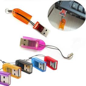Adaptador Leitor Reader Micro Sd Sdhc Para Usb - Frete 10,00
