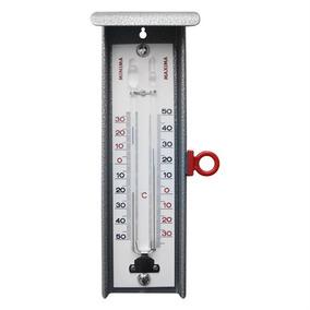 Termômetro Alemão De Máxima E Mínima -35+50:1c Cinza