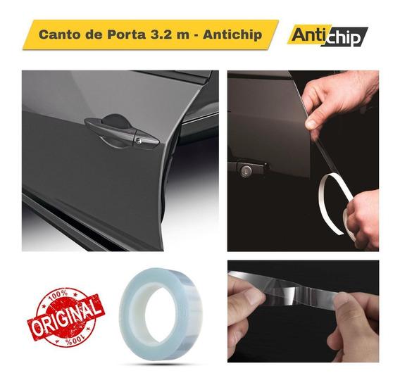 Protetor Adesivo Pelicula Protetor De Pintura Bordas Portas Veiculo Universal Carro Antichip
