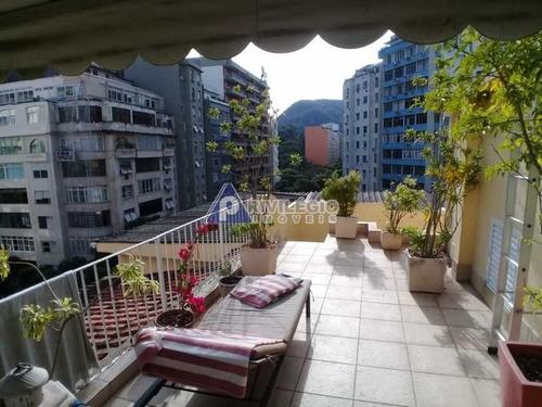 Imagem 1 de 30 de Cobertura À Venda, 1 Quarto, 1 Suíte, Copacabana - Rio De Janeiro/rj - 1004