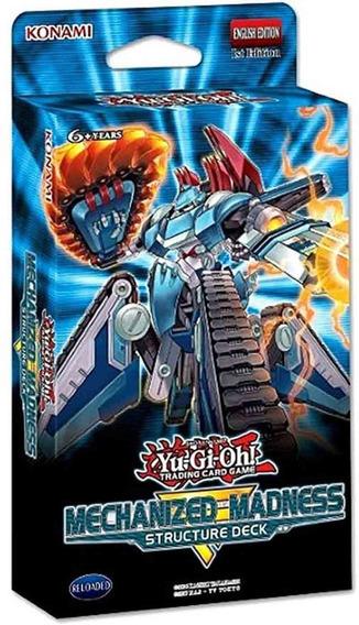 Yu Gi Oh Mechanized Madness Structure Deck