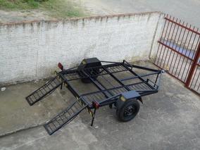 Reboque Para Quadriciclo Com Rampa, 2,00 X 1,50