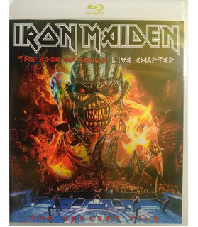 Blu Ray Iron Maiden - The Book Of Souls: Live Chapter