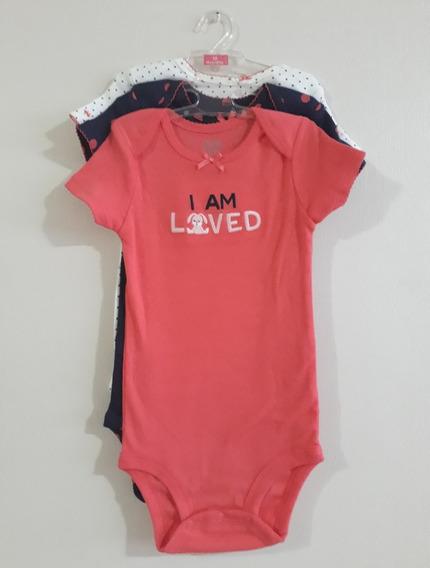 Bodysuits Para Bebes Marca Carter´s 18 Meses (3-pack)
