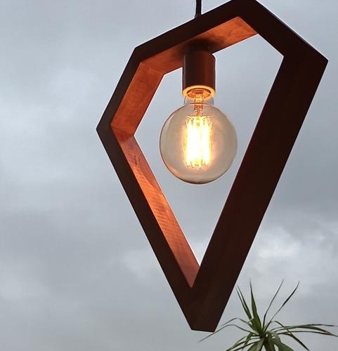 Imagen 1 de 2 de Lámpara Colgante De Techo Rubí Simple Chica