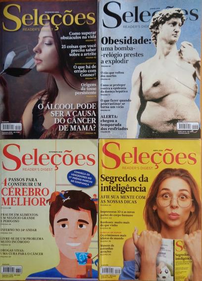 Kit 36 Revistas Seleções Exemplares Assinante