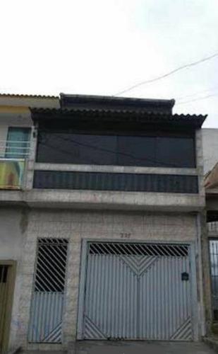 Imagem 1 de 18 de Sobrado Residencial Para Venda E Locação, Jardim Santo André, Santo André - So0176. - So0176