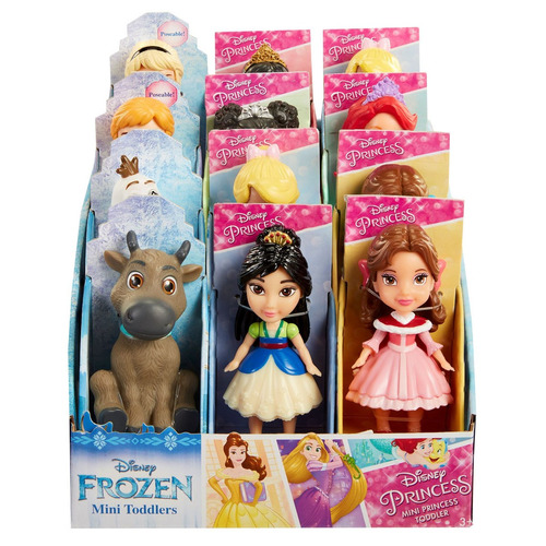 Mini Princesas Coleccionables De Disney