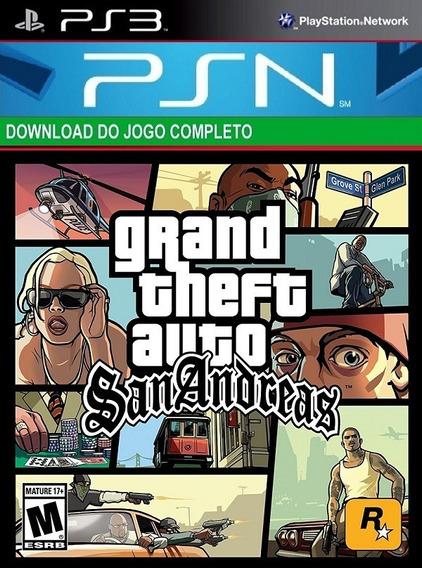 Gta San Andreas Remasterizado Hd Ps3 -midia Digital Original