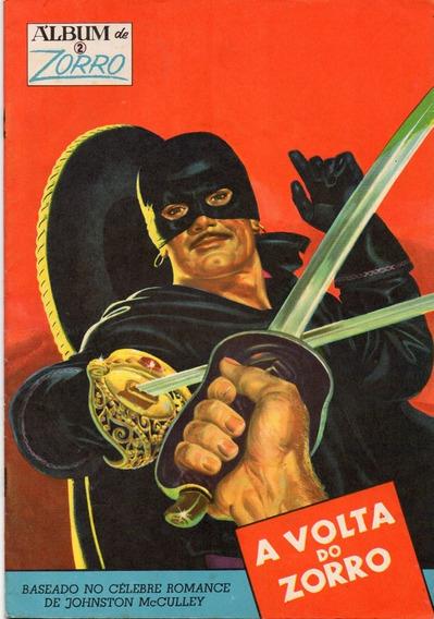 Álbum Do Zorro Nº 2 - Ótimo/excelente - Frete Grátis