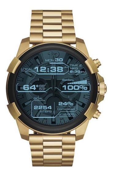 Smartwatch Diesel On Masculino Dourado - Dzt2005/1di