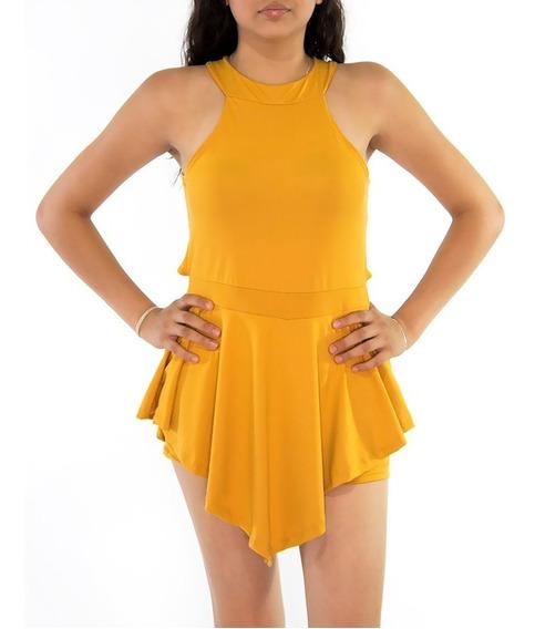 Jumpsuit Short Para Dama Jumper Mujer Overol Palazzo Model 2